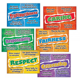 Character Choices Posters Combo Pack, 6 pcs.