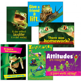 Awesome Attitude Frogs ARGUS® Posters Combo Pack