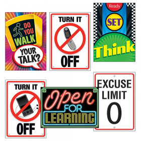Learning Signs ARGUS® Posters Combo Pack