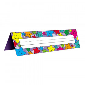 Happy Stars Tented Name Plates, Pack of 36