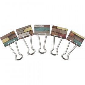 Reclaimed Wood Medium Binder Clips