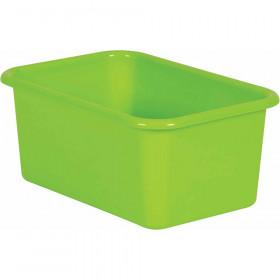 Lime Small Plastic Bin