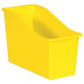Yellow Plastic Book Bin