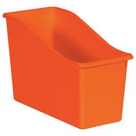 Orange Plastic Book Bin