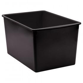 Black Plastic Multi-Purpose Bin