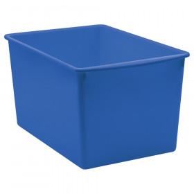 Blue Plastic Multi-Purpose Bin