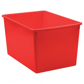 Red Plastic Multi-Purpose Bin