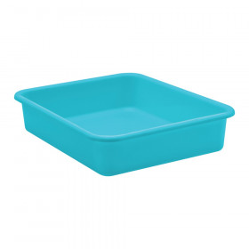 Teal Large Plastic Letter Tray