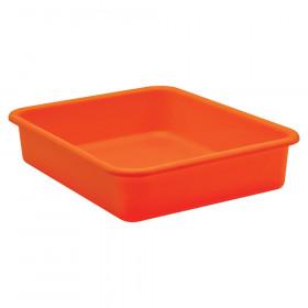 Orange Large Plastic Letter Tray