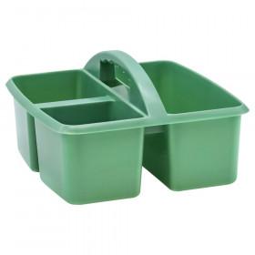 Eucalyptus Green Plastic Storage Caddy