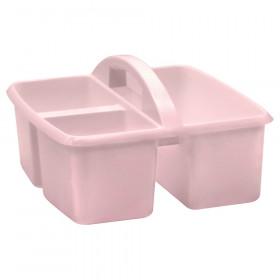 Blush Plastic Storage Caddy