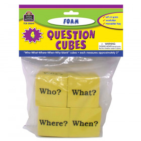 Foam Question Cubes