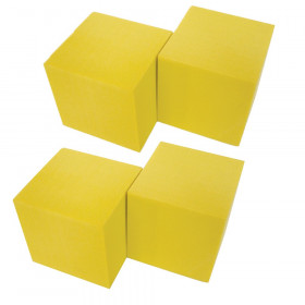 "Foam Blank Dice, 2"", Pack of 4"