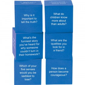 Foam Life Question Cubes, Set of 6