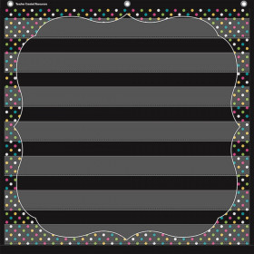 "Chalkboard Brights 7 Pocket Chart (28"" x 28"")"