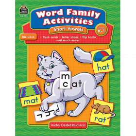 Word Family Activities: Short Vowels