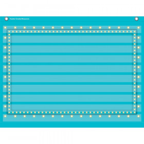 "Light Blue Marquee Mini Pocket Chart (17"" x 22"")"