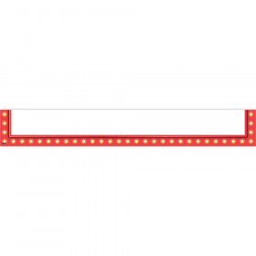 Red Marquee Magnetic Pockets - Large