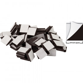 "Adhesive Magnetic Squares (3/4"" sq)"