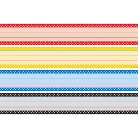 Polka Dots Sentence Strips Classic Colors