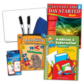 Learning Together: Math Grade 2 Home Learning Set