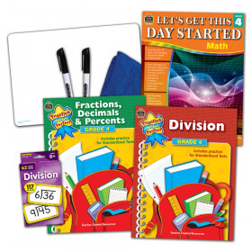 Learning Together: Math Grade 4 Home Learning Set