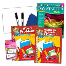 Learning Together: Math Grade 5 Home Learning Set