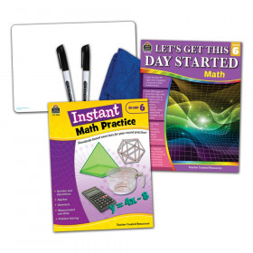 Learning Together: Math Grade 6 Home Learning Set
