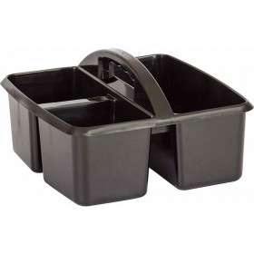 Black Plastic Storage Caddy