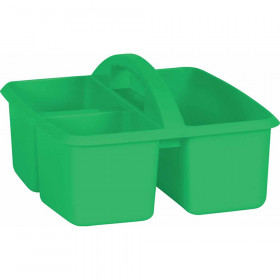 Green Plastic Storage Caddy
