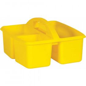 Yellow Plastic Storage Caddy