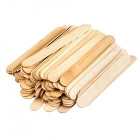 STEM Basics, Jumbo Craft Sticks, 200 Pieces