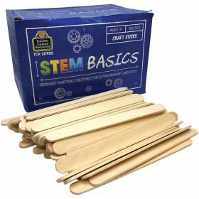 STEM Basics, Craft Sticks (500)