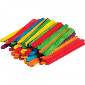 STEM Basics, Multicolor Craft Sticks (250)