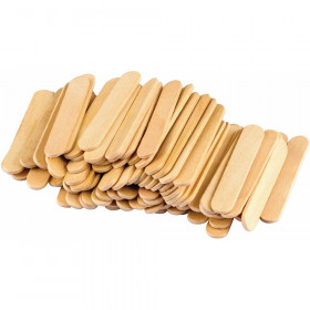 STEM Basics: Mini Craft Sticks - 100 Count