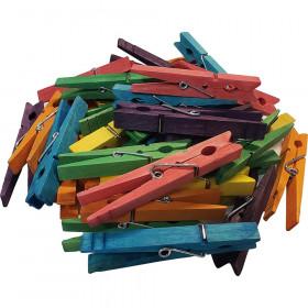STEM Basics, Multicolor Clothespins (50)