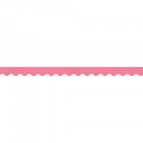 Light Pink Scalloped Border Trim