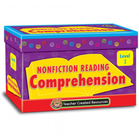 Nonfiction Reading Comprehension Cards, Level 2