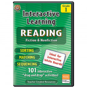 Interactive Learning Reading Games Gr 1