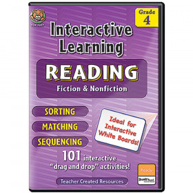 Interactive Learning Reading Games Gr 4