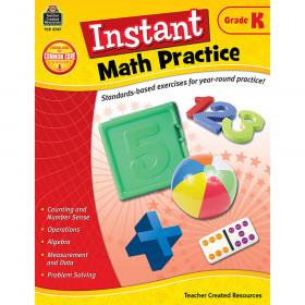 Instant Math Practice (Gr. K)