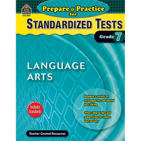 Prepare & Practice for Standardized Tests: Language Arts (Gr. 7)