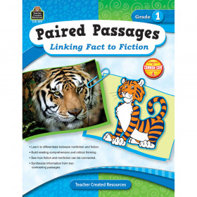 Paired Passages: Linking Fact to Fiction (Gr. 1)