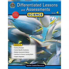 Differentiated Lessons and Assessments: Science (Gr. 4)