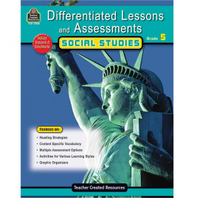 Differentiated Lessons and Assessments Social Studies, Grade 5