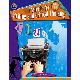 Mysteries For Writing & Critical Thinking Gr 4-8