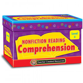 Nonfiction Reading Comprehension Cards, Level 4