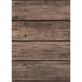 Better Than Paper Bulletin Board Roll, 4' x 12', Dark Wood, 4 Rolls