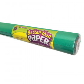 Vivid Green Better Than Paper Bulletin Board Roll, Pack of 4