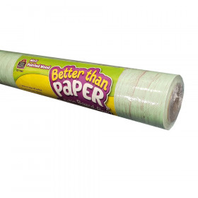 Mint Painted Wood Better Than Paper Bulletin Board Roll, Pack of 4